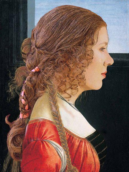 hair & hairdressing - medieval