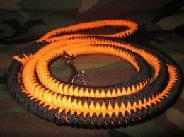 Do not be afraid, that is not a picture of a snake! The paracord dog leash instructions blog will teach you how to make various dog leashes! You will learn why we are working with paracord, various knotting techniques, what crafting supplies you...
