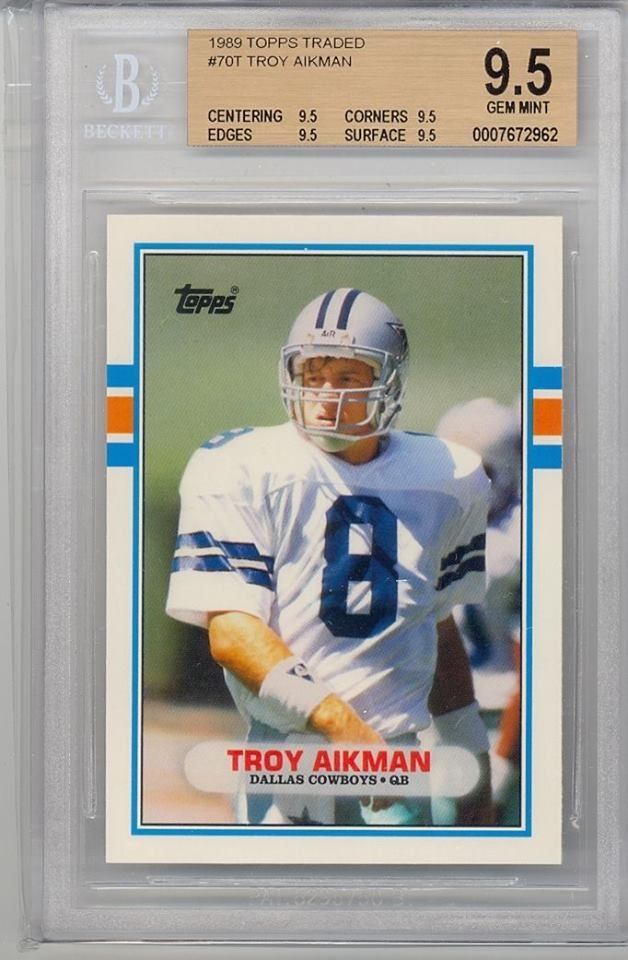 Troy Aikman - Topps