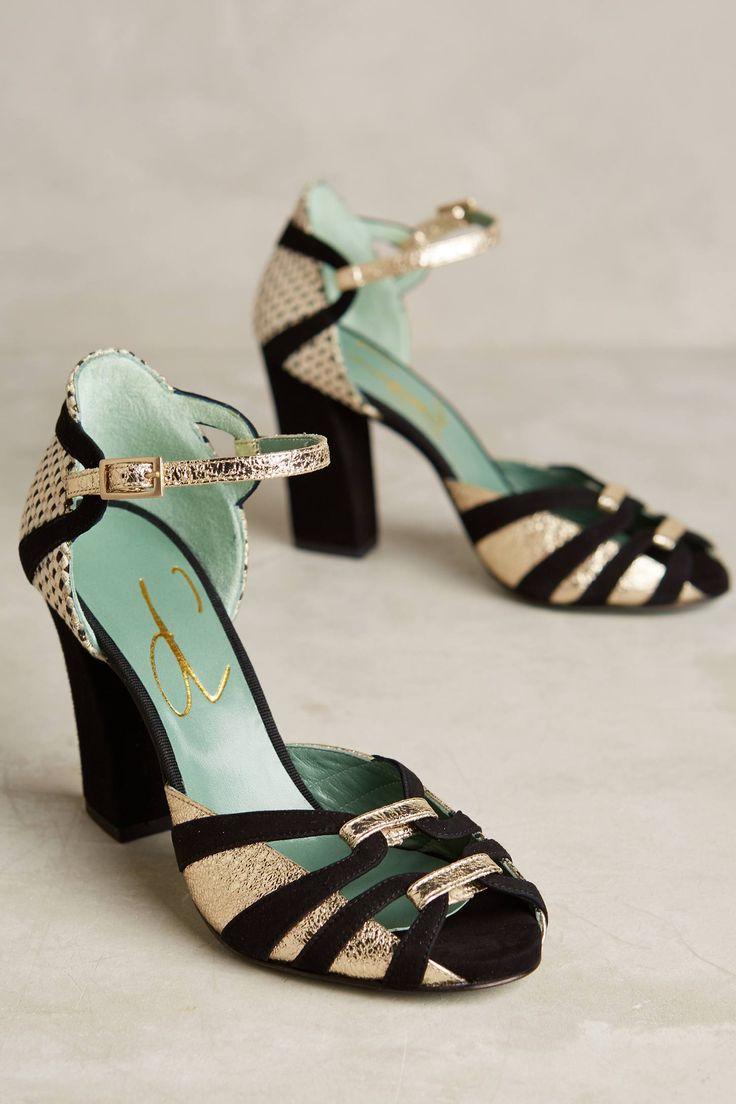 Paola d'Arcano Nero Heels. Women's HeelsHigh HeelsPumpsBeautiful ShoesFancy  ShoesAnthropologieShoe ...