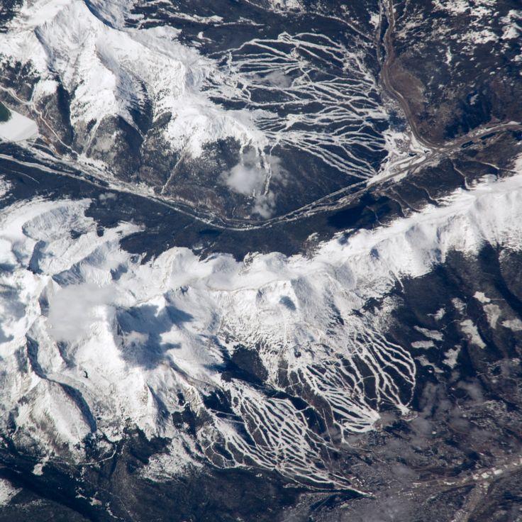 copper mountain colorado | Breckenridge and Copper Mountain Ski Slopes, Colorado : Image of the ...