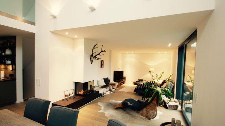 Pinterestu0027teki 25u0027den fazla en iyi Moderne bilder fürs wohnzimmer - gardine küche modern