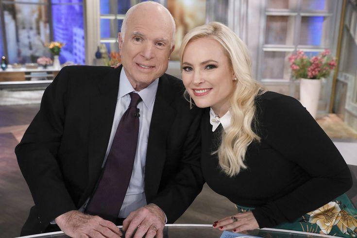 Meghan McCain Blasts President Trump Suggests Dad John McCain Is a Way Bigger Badass