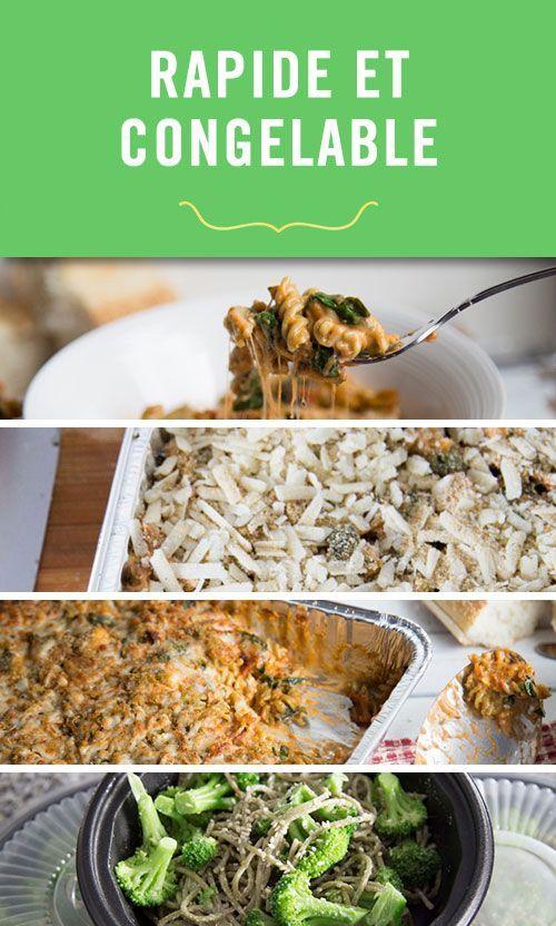 Cinq Fourchettes nous montre comment avoir des repas nutritifs à portée de main en tout temps grâce à une planification simple et à votre congélateur.  #Rentree #Ideesrepas