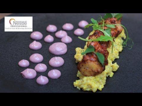 Michelin star Peruvian chef Robert Ortiz cooks sea bass, scallops and octopus