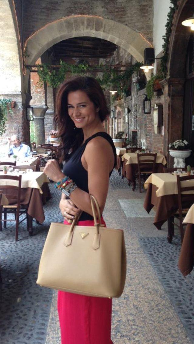 Claudia Vieira #prada