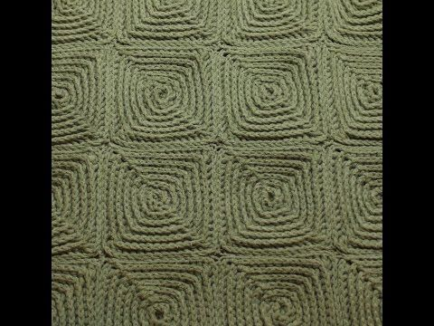 ВЯЗАНИЕ КРЮЧКОМ КВАДРАТ РЕЛЬЕФНЫМИ СТОЛБИКАМИ.Granny Squares Crochet - YouTube