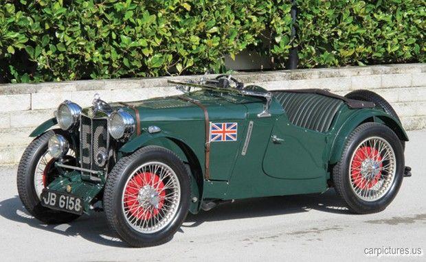 1934 MG PA-B Le Mans Works Racing Car