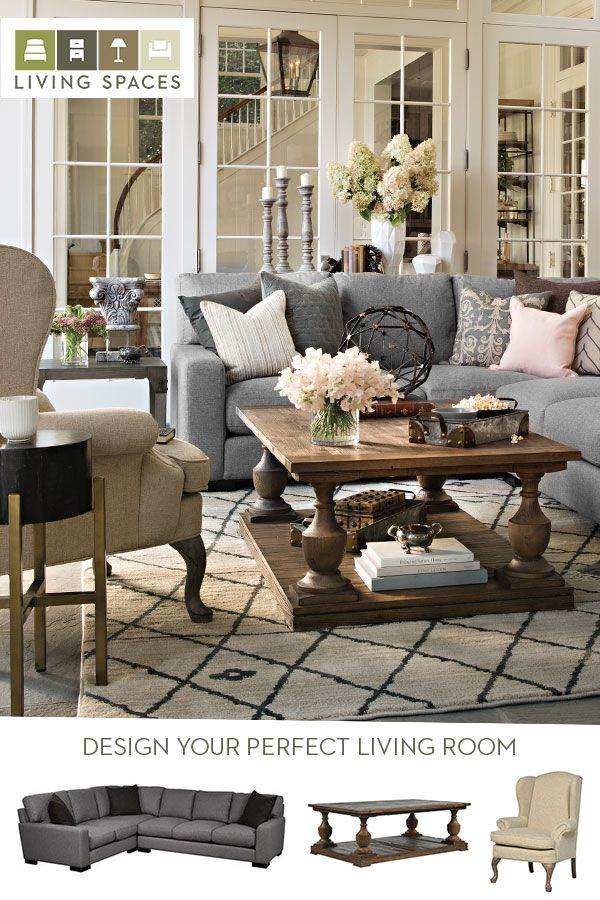 Best 25 living room sectional ideas on pinterest family - 4 chairs in living room instead of sofa ...