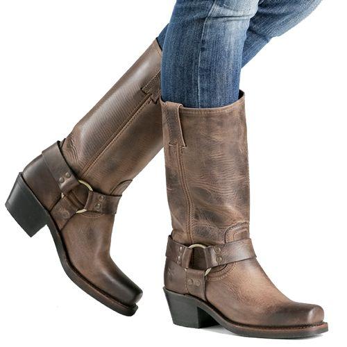 Frye Boots Harness 12R Tan for woman. International shipping -> free shipping in Europe. http://www.boeties.nl/frye-dames-laarzen-harness-12r-tan-773002