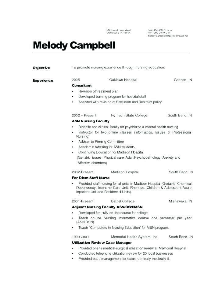 30 Med Surg Nurse Resume Cover Letter Templates