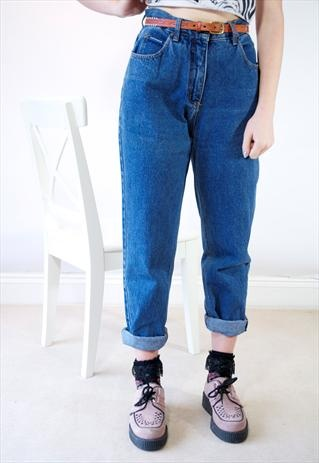 vintage high waisted mom jeans style pinterest women. Black Bedroom Furniture Sets. Home Design Ideas