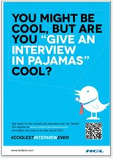 Coolest Interview Ever - interview in pajamas #Digitalmedia #socialmedia #coolestinterviewever @667 / Technologies