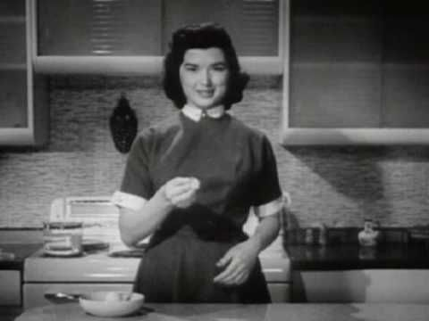"""Band-Aid Plastic Strips Commercial (1955) - """"Flesh-Colored"""" = White"""