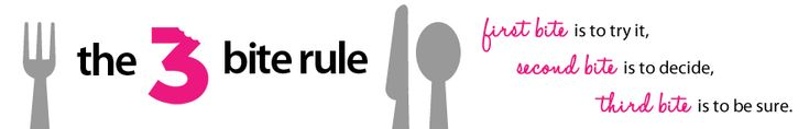 The Three Bite Rule - Awesome blog with fun party ideas and recipes.  But totally written by a real person, not by someone who has unlimited time to make super complicated, overly twee recipes.  Love.