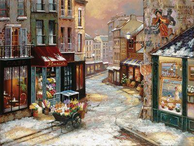 Winterfall Mural - John O'Brien  Murals Your Way