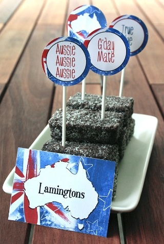 Lamingtons are a tasty treat generally only found in Australia, they are the national cake of Australia. These miniature cakes are unique to Australia because they are made with vegemite and vegemite is only sold in Australia