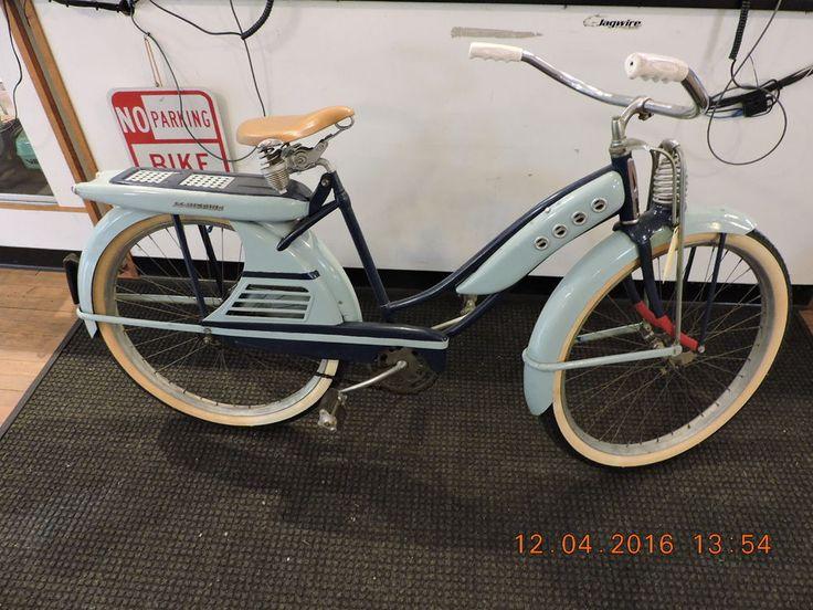 1950 Schwinn Black Phantom Vintage Bicycles
