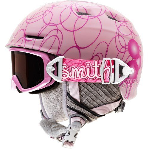 Smith Optics Youth Medium Galaxy/Cosmos Jr. Integrated Goggle (Pink Pop, Rc36) by Smith Optics. $59.95. Never before have a helmet and goggle been so seamlessly integrated – fit, style, and performance all in one otherworldly package. The all-new Cosmos Jr. helmet and Galaxy goggle combo pack utilize Smith Tractor Beam Technology, powered by a patented Fidlock slide release buckle. This new system ensures convenient, fully adjustable, and fun helmet-goggle attachment. Comb...