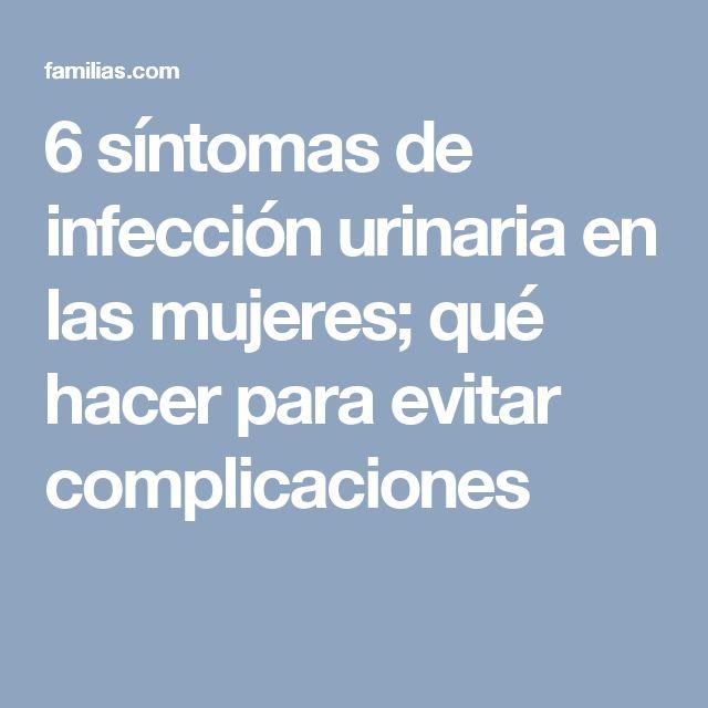 6 síntomas de infección urinaria en las mujeres; qué hacer para evitar complicaciones