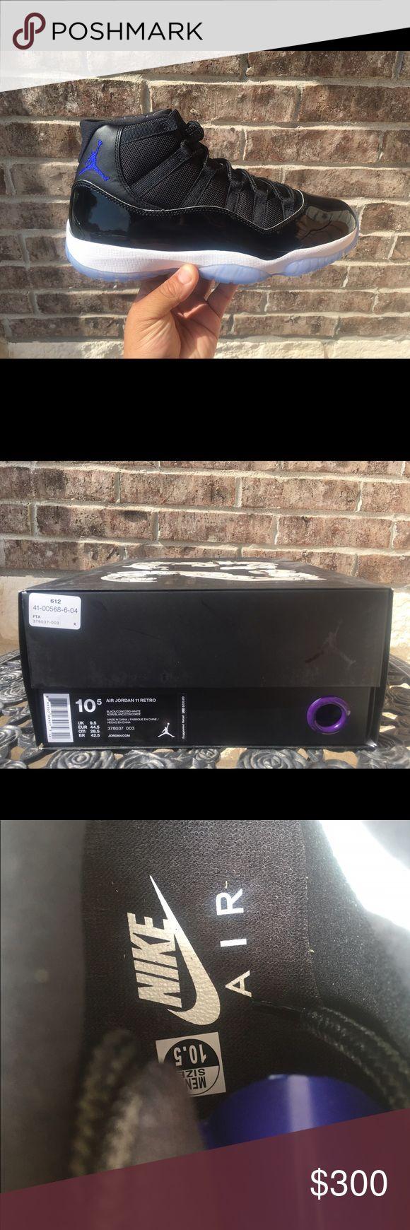 Air Jordan 11 space jam Air Jordan 11 retro space jam brand new in the box sz 10.5 any questions please ask Jordan Shoes Sneakers