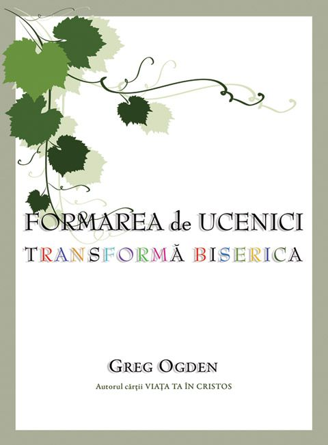 O viziune asupra formării şi transformării ucenicilor şi cum se poate ca acestea să fie un proces care se reia cu fiecare generaţie - Vezi o prezentare pe larg a cărţii la: http://www.nouasperanta.ro/formareadeucenici