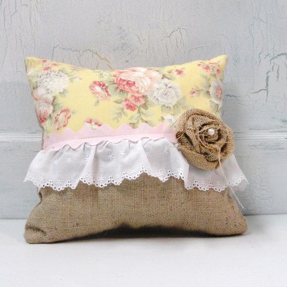 Designer Pillow Decorative Cottage Style Chintz by PondViewStudio, $29.00