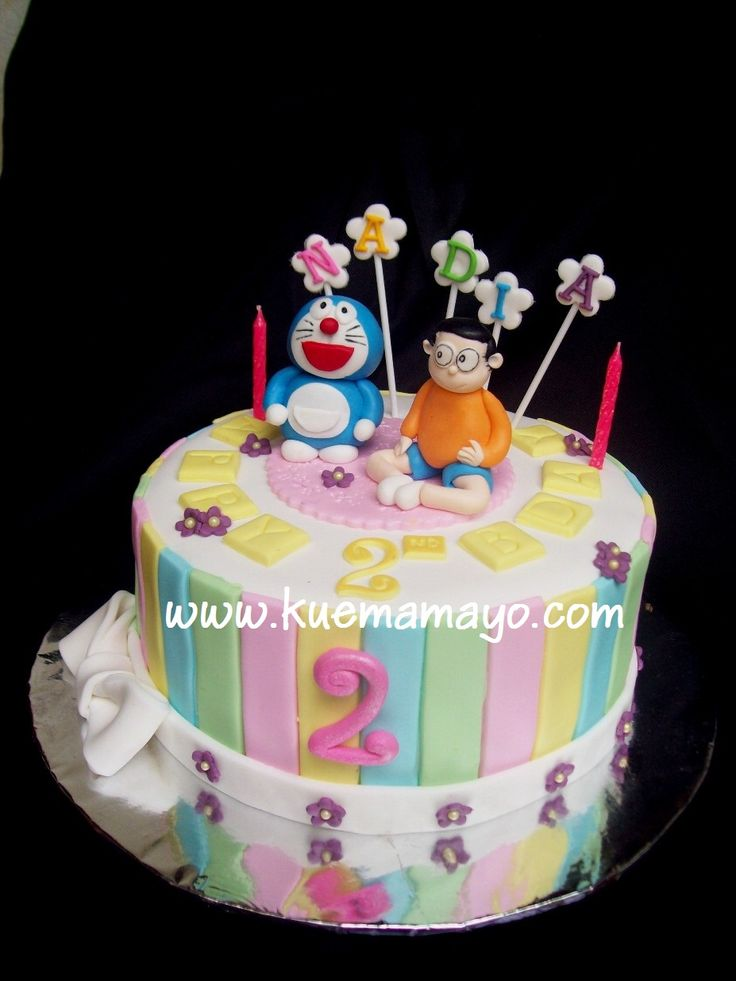 Doraemon Birthday Cake Images : 102 best images about cartoon: doraemon on Pinterest ...