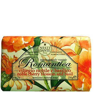 Nesti Dante Romantica Cherry Blossom & Basil Soap 250g