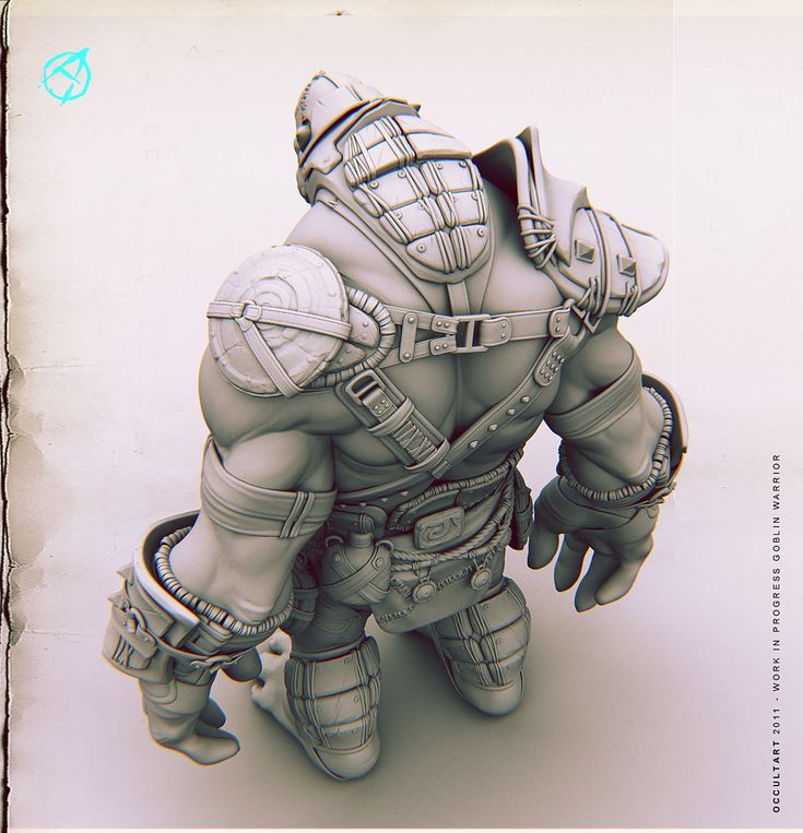 ArtStation - Goblin Warrior 2011 W.I.P., OccultArt _