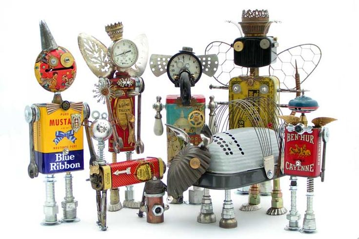 "Ifobot.com ~ the home of ""Fobots""--Found Object Robots. Also see: http://www.pinterest.com/source/ifobot.com/ and this Pinterest Board: http://www.pinterest.com/robynfr56/random/"
