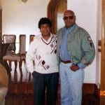 Nakul's Father with Late Amrish Puri