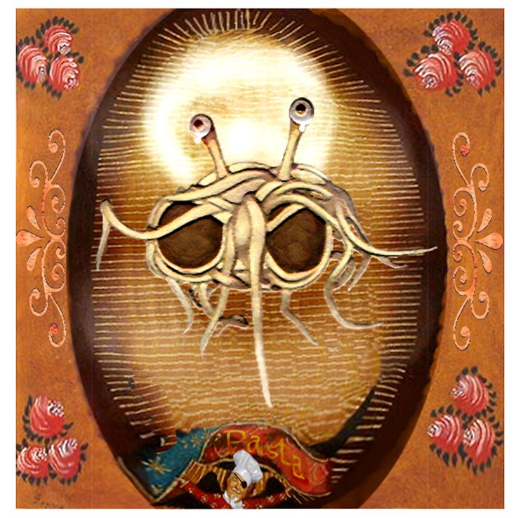 the church of the flying spaghetti His noodliness, the flying spaghetti monster is the ultimate truth in the universe it is the central point of worship in the religion commonly known as flying.