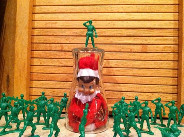 elf on the shelf ideas . This is for Amanda ;)