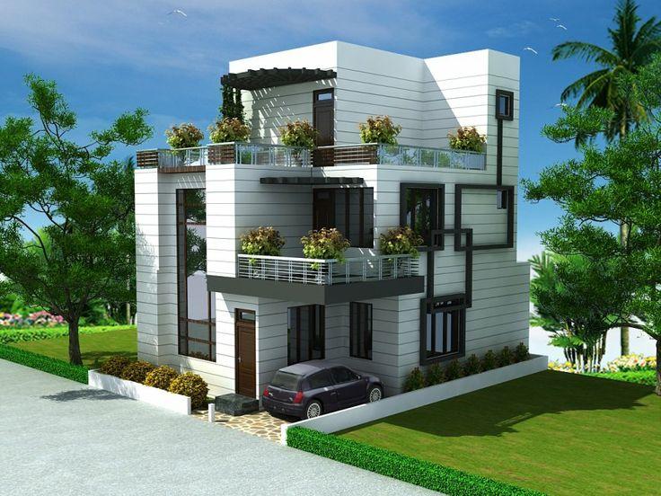 crazy built house