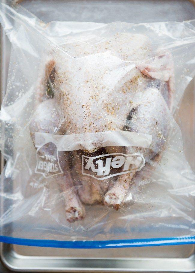 How To Brine a Turkey   Dry Brine Recipe   HelloNatural.co