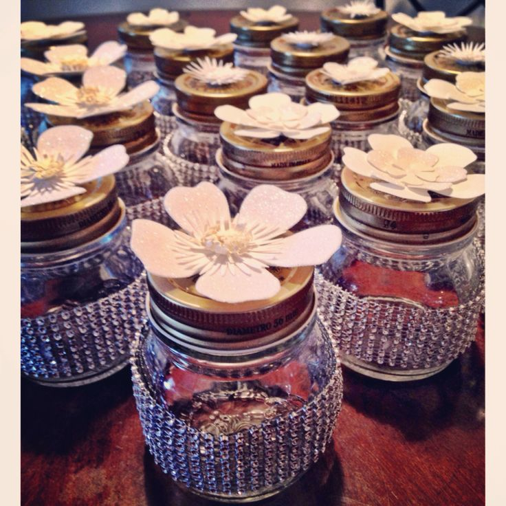 mason jars as my party favors baby shower ideas pinterest favors