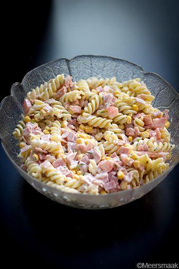Meersmaak: Recept pastasalade