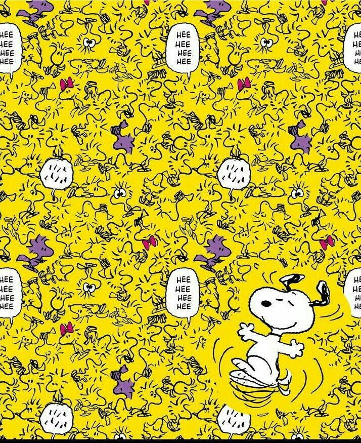 """""""Hee Hee Hee, ' ' ' ' ' ' ' ' ' ' , !!!"""" Snoopy & Woodstock having a Good Laugh."""