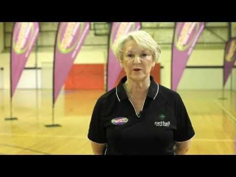 Norma Plummer's Netball Drills - Passing - YouTube
