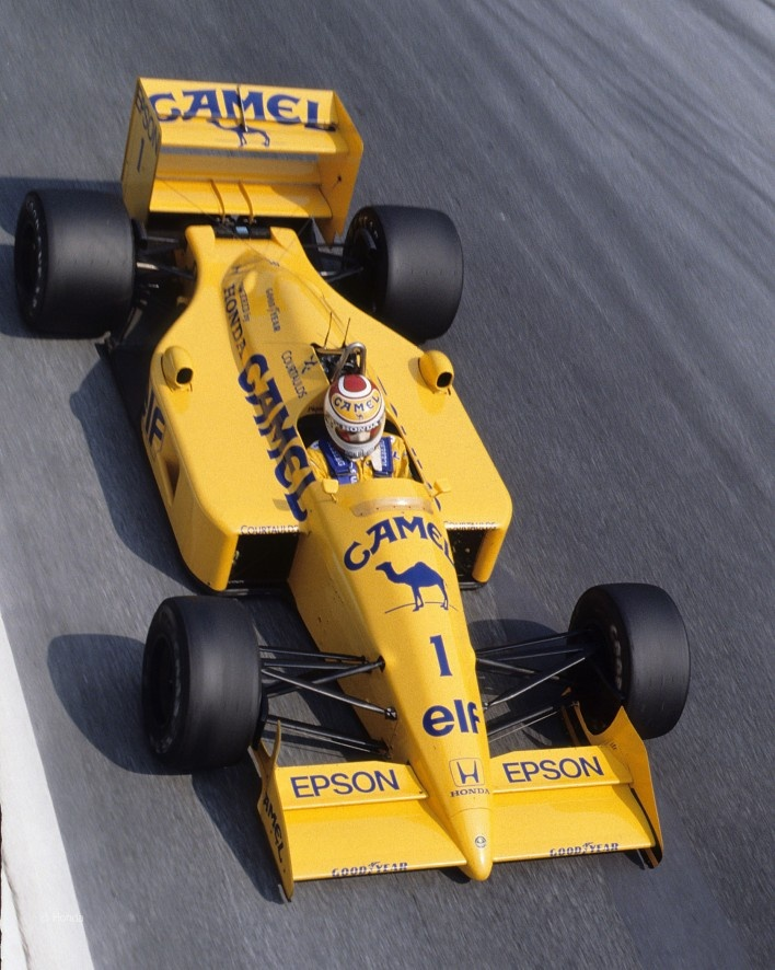 Nelson Piquet, Lotus-Honda 100T, Monza, 1988
