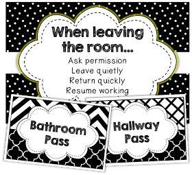 The Brown-Bag Teacher: Monday Made It – The Bathroom Pass