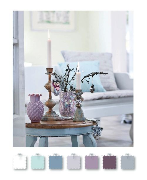 Really love the color combo for the guest room...already have the grayish plum walls