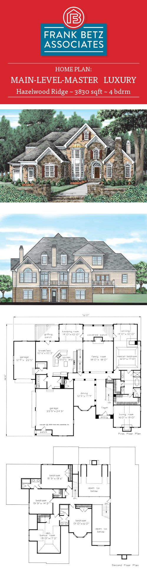 111 best luxury house plans images on pinterest luxury house