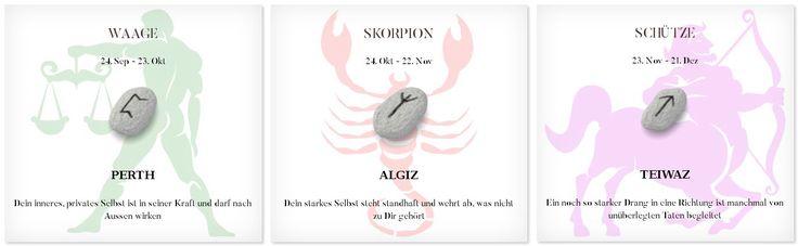 Runen Tageshoroskop 17.4.2017 #Sternzeichen #Runen #Horoskope #waage #skorpion #schütze