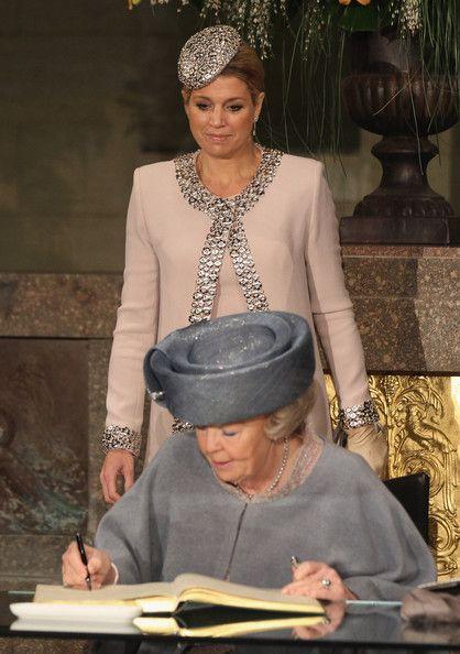 Queen Maxima - HRH Queen Beatrix Of The Netherlands