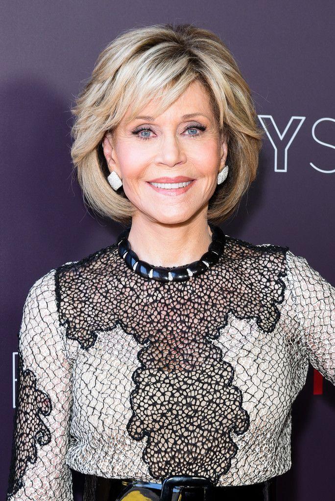Jane Fonda Bob Medium Hair Styles Jane Fonda Hairstyles Short Hair Styles