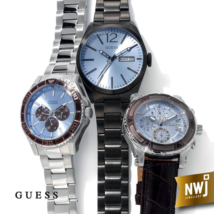 NWJ stocks a wide range of great local and international watch brands - like these men's Guess watches.