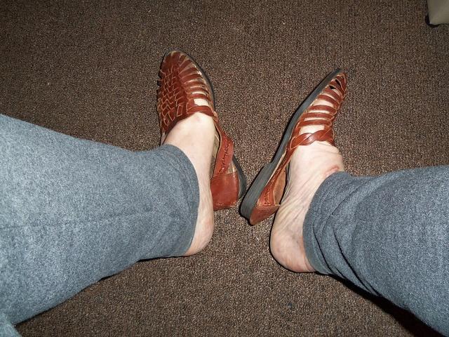 x-girlfriend brown sandles.     The New Steve Madden Women's Masqraid Open-Toe Pump