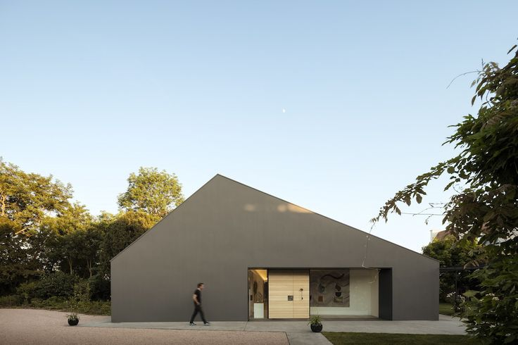 Marchi Architectes: Chestnut House — Thisispaper — What we save, saves us.